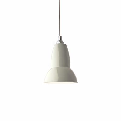Anglepoise - Original 1227 Midi Pendant Lamp Linen White (Cable: Gray)