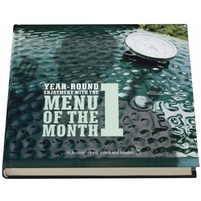 Big Green Egg - Menu of the month Teil 1 Buch (englisch)