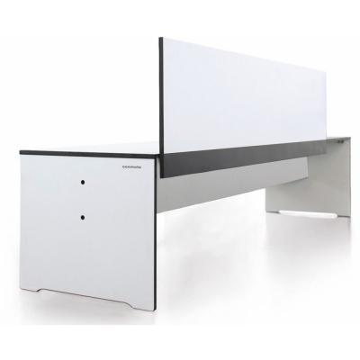 Conmoto - Riva Bank mit Rückenlehne 194 cm | Weiß