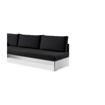 Conmoto - Riva Lounge Rückenlehne 200 cm | Anthrazit