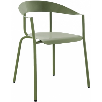 Conmoto - Alu Mito Armchair Pale Green RAL 6021