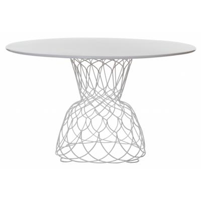 Emu - Re-Trouvé Tisch 130 cm   Mattweiß