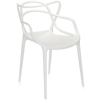 Kartell - Masters Stuhl Weiß