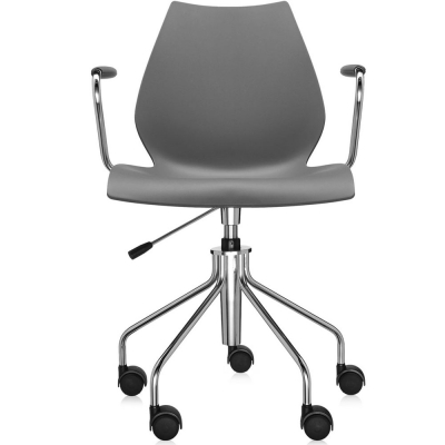Kartell Maui Office Chair With Armrests Nunido