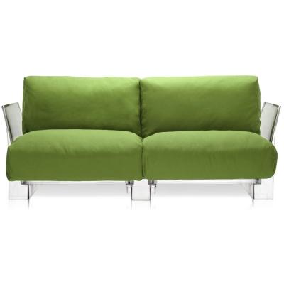 Kartell - Pop Outdoor 2er Sofa