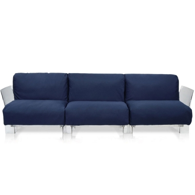 Kartell - Pop Outdoor 3er Sofa