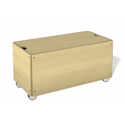 Müller Möbel - Bedding Box with Wheels for Stacking Bed Comfort Height