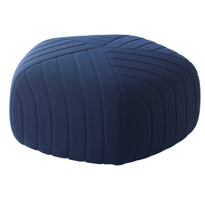 Muuto - Five Pouf Dark Blue (Remix 773)
