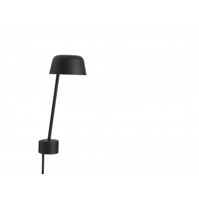 Muuto - Lean Wall Lamp Black