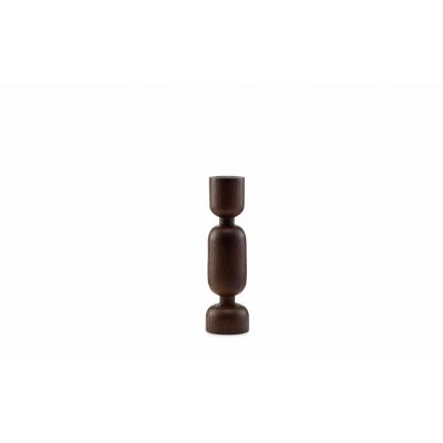 Normann Copenhagen - Lumberjack Candleholder Medium | Stained Oak