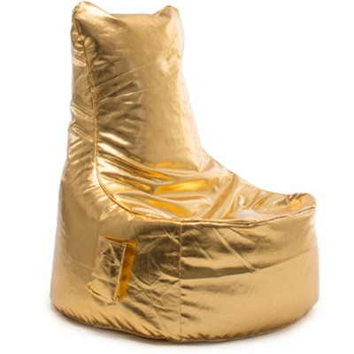 Sitting Bull - Chill Seat Sitzsack Leder Gold