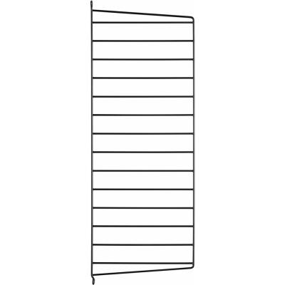 String - Wandleiter für String® System H75 x T30 cm | Schwarz | 1 Pack
