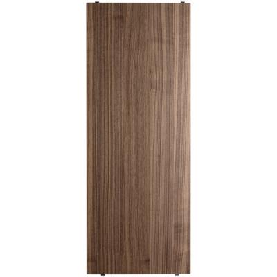 String - Regalboden für String® System (3er Set) 78 x 30 cm | Walnuss