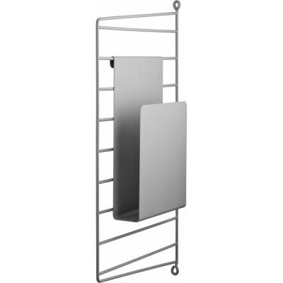 String - Zeitschriftenhalter für String® System Grau