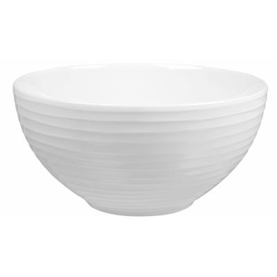 Design House Stockholm - Blond Suppenschüssel Weiß gestreift