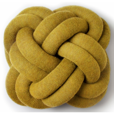 Design House Stockholm - Knot Cushion Yellow