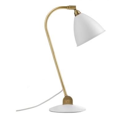 Gubi - Bestlite Table Lamp BL2 Brass - Matt White