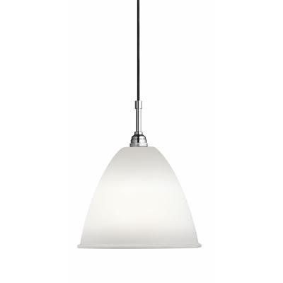 Gubi - Bestlite Pendant Lamp BL9 Ø 21 cm | Chrome - Bone China