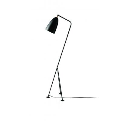 Gubi - Grossman Gräshoppa Floor Lamp Jet Black