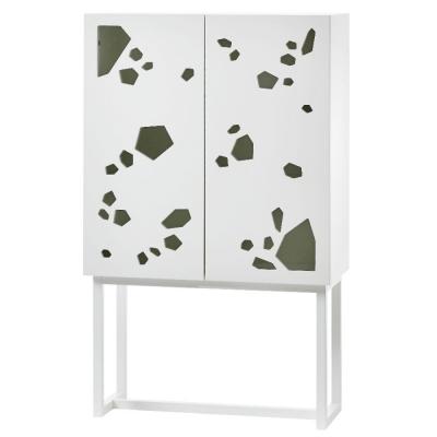 A2 - Sneak peek Cabinet Wandschrank hoch weiß