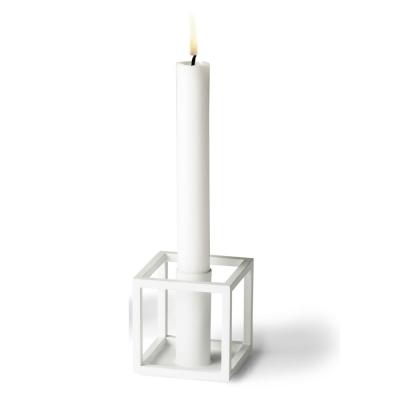 by lassen kubus 1 kerzenst nder wei nunido. Black Bedroom Furniture Sets. Home Design Ideas