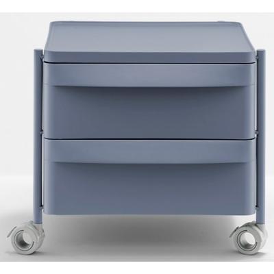 Pedrali - Boxie Rollcontainer klein Beige   Schublade oben