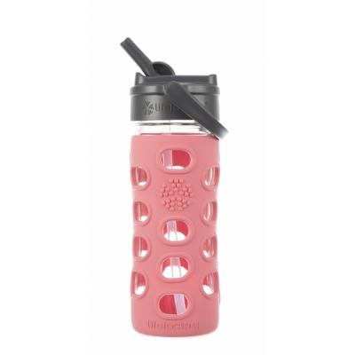 Lifefactory - Straw Cap Glas-Trinkflasche