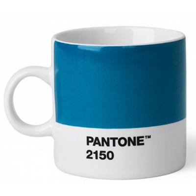Pantone - Porzellan Espressotasse Blue 2150