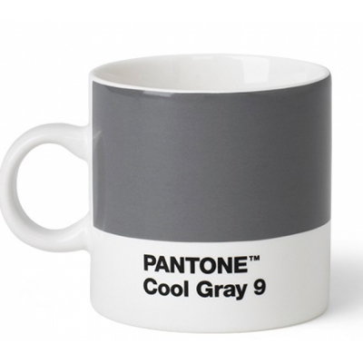 Pantone - Porzellan Espressotasse Cool Gray 9