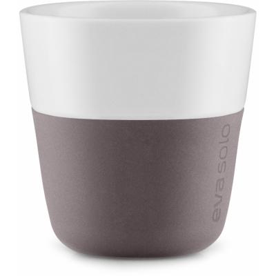 Eva Solo - Espresso-Becher (2 Stück) Grau-Braun