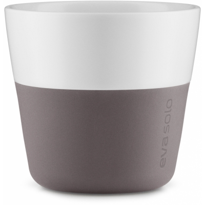 Eva Solo - Caffé Lungo-Becher (2 Stück) Grau-Braun