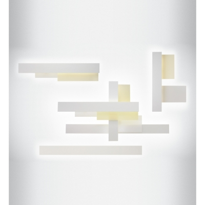 Foscarini - Fields 3 Parete Wandleuchte Weiß