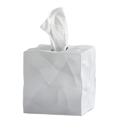 essey - Wipy Cube Tuchbox Weiß