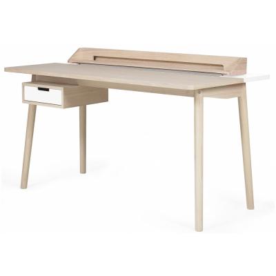 Harto - Desk Honore Schreibtisch Eiche / Weiß