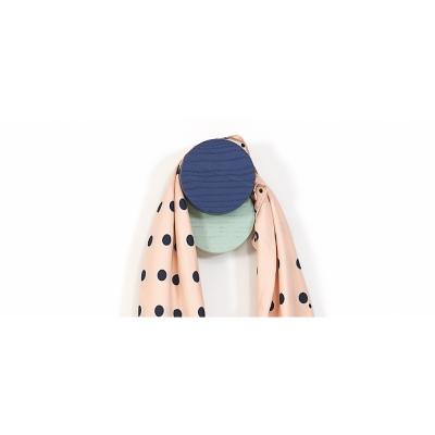 Harto - Coat Hook Lou Kleiderhaken Blau-Pastellgrün