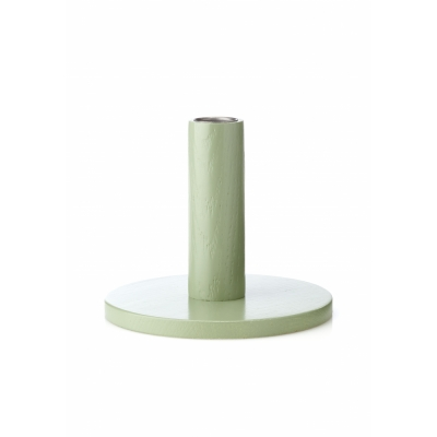 applicata - Simplicity Kerzenhalter Groß   Buche-Vintage green
