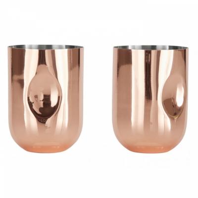 Tom Dixon - Plum Moscow Mule Gläser (2 Stk.)