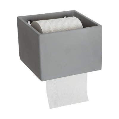 House Doctor - Cement Toilettenrollenhalter