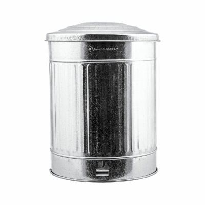 House Doctor - Zinc Garbage Bin