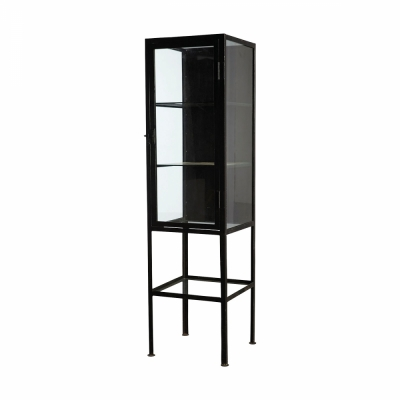 House Doctor - Cabinet with Glass Shelves | nunido.
