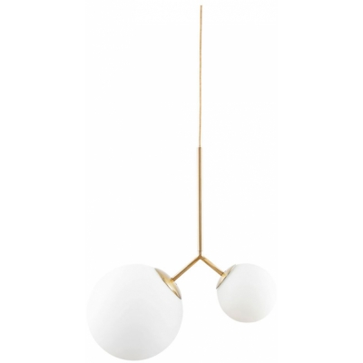 House Doctor - Twice Pendant Lamp White/White