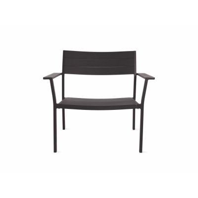 Case Furniture - Eos Loungestuhl Schwarz