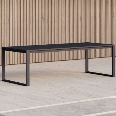 Case Furniture - Eos Communal Outdoortisch Schwarz