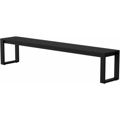 Case Furniture - Eos Communal Outdoorbank Schwarz