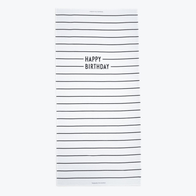 Design Letters - Happy Birthday tablecloth
