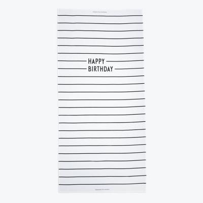 Design Letters - Happy Birthday Tischdecke
