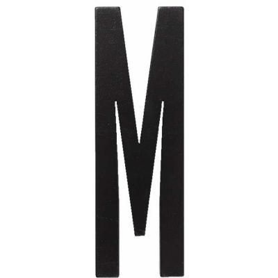 Design Letters - Wooden Letters Indoor M | Black