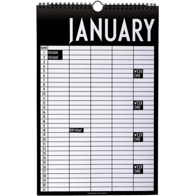 Design Letters - Monthly Planner Monatskalender