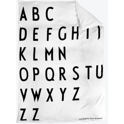 Design Letters - Duvet cover