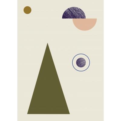 Ferm Living - Geometry Poster